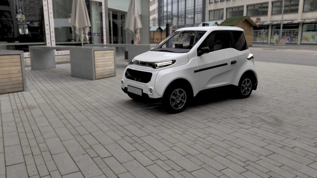Zetta CM1 Electric Car