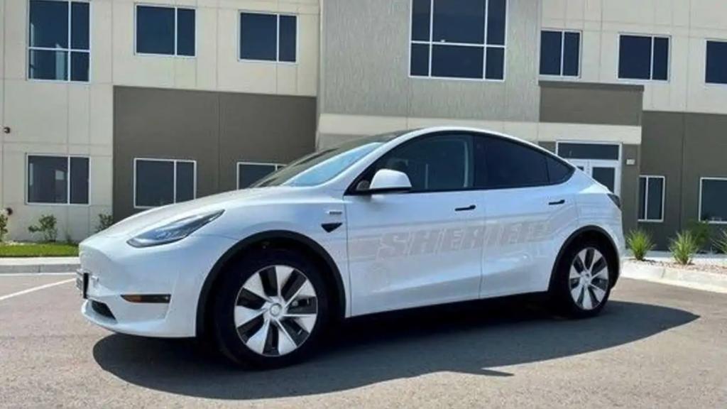 2021 Tesla Model Y police car