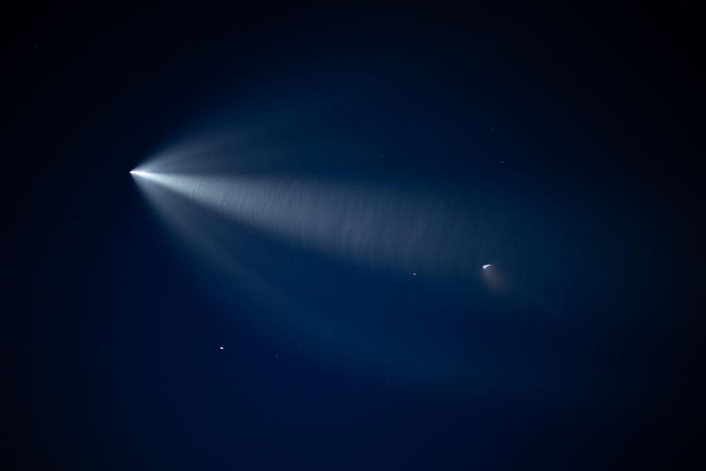 SpaceX Crew Dragon rocket