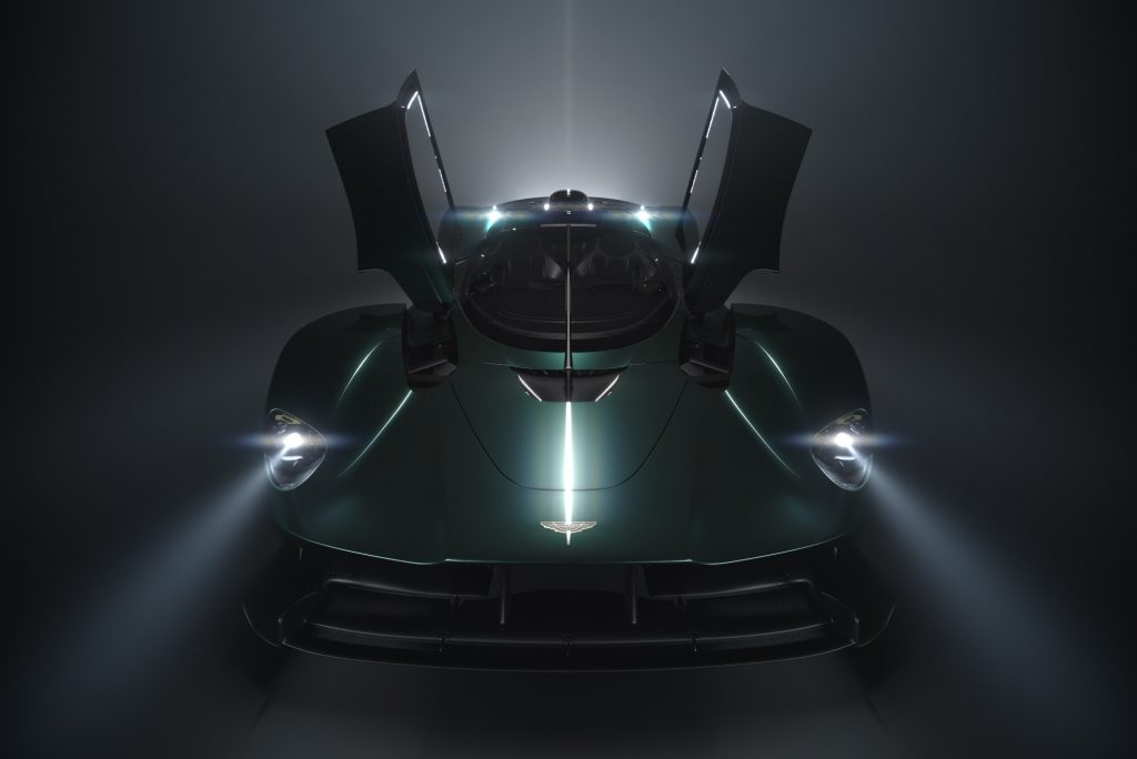 The Aston Martin Valkyrie Roadster Supercar
