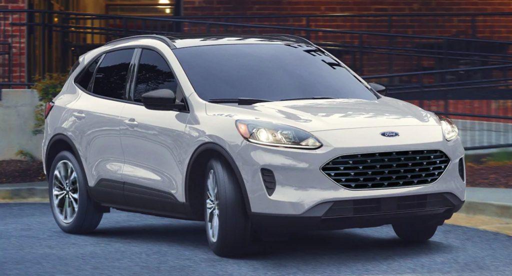The Ford Escape Plug-in Hybrid.