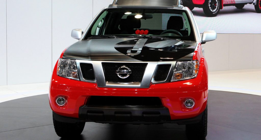 The Nissan Frontier