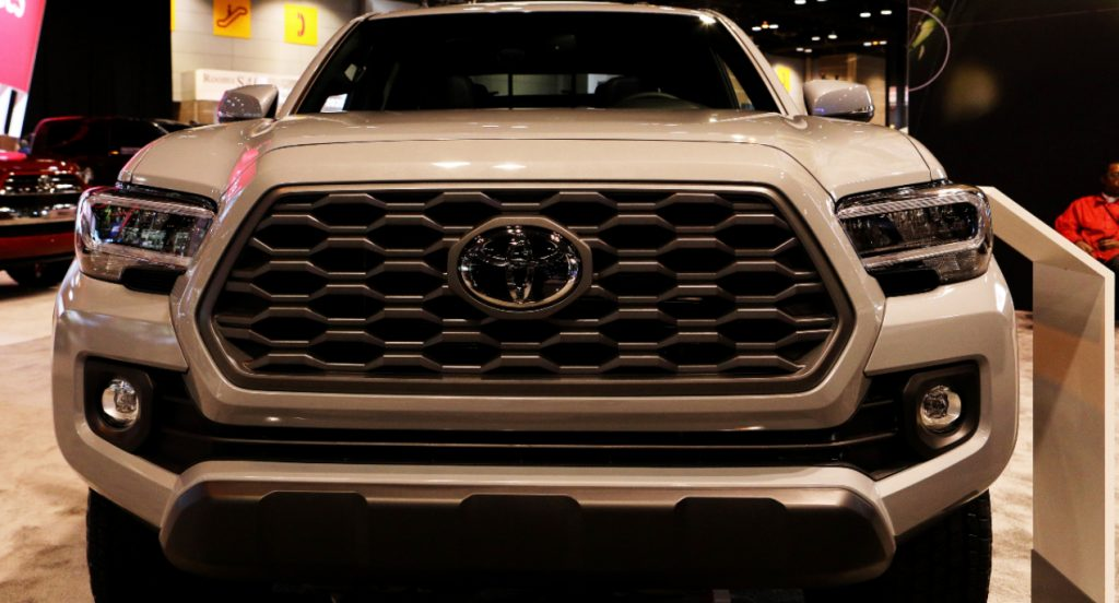 Toyota Tacoma TRD 4x4 is on display at the 112th Annual Chicago Auto Show.