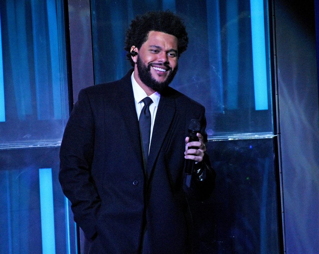 The Weeknd performs at the iHeartRadio Music Awards in Los Angeles on May 27, 2021