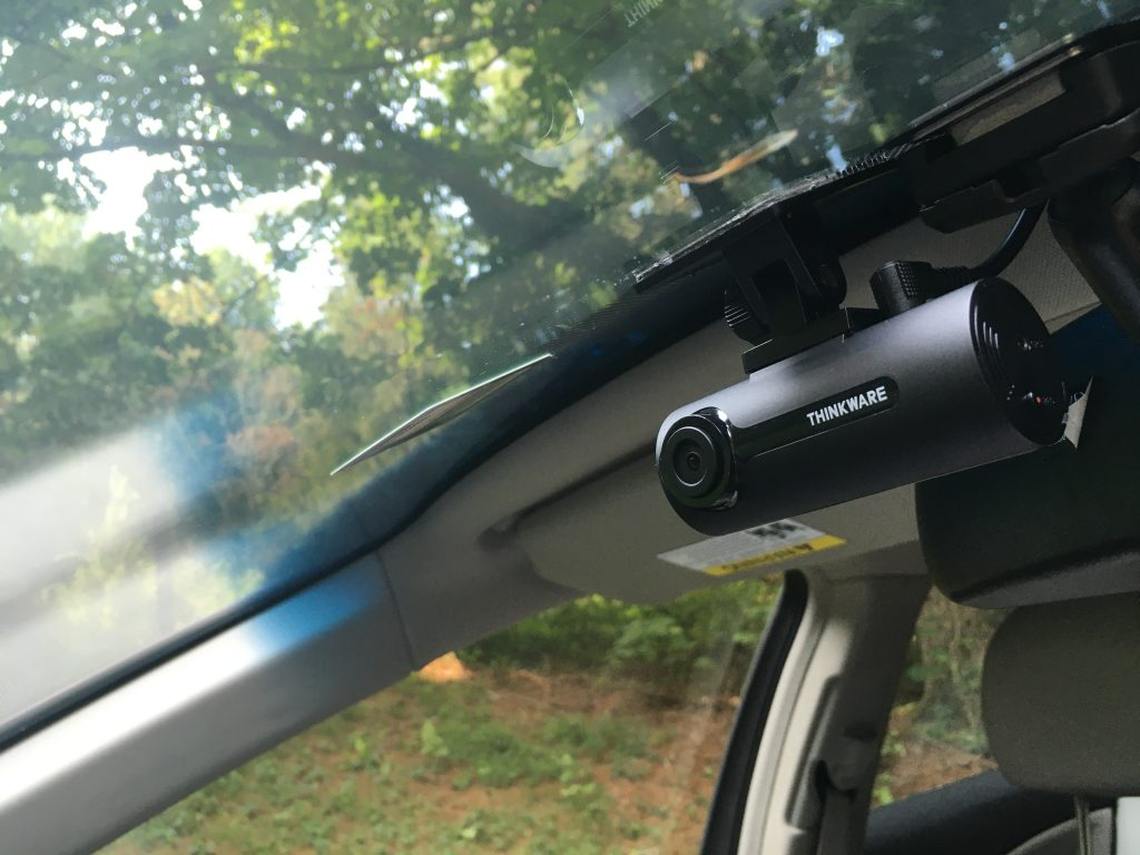 The Thinkware F70 Dashcam can prevent your car from being stolen