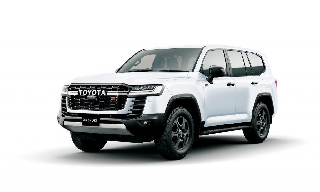 Toyota Land Cruiser GR Sport Front