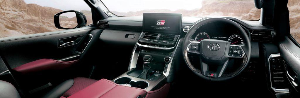 Toyota Land Cruiser GR Sport Interior