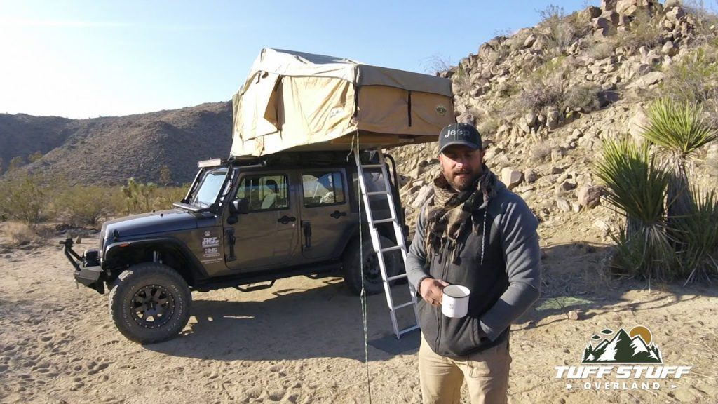 A Publicity Shot of Ranger Rooftop Tent   Ranger Overland. One of the 5 Best Rooftop Tents For Overlanding -- According to Popular Mechanics