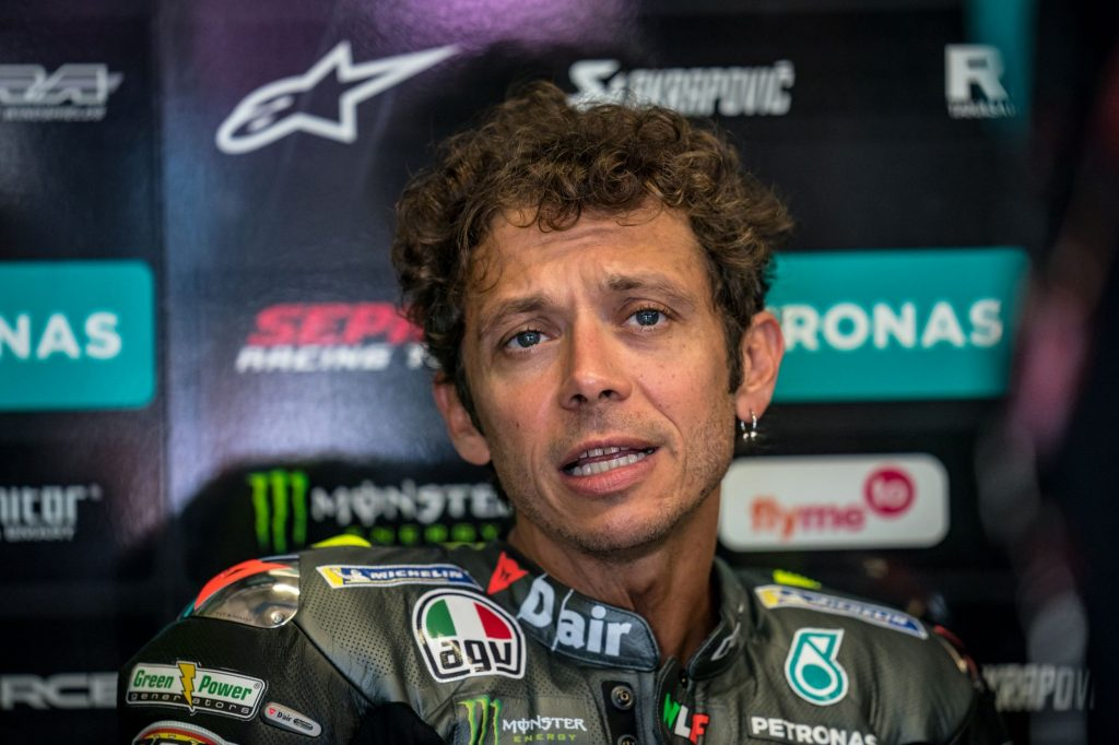Valentino Rossi of MotoGP and Petronas Yamaha SRT at the Red Bull Ring