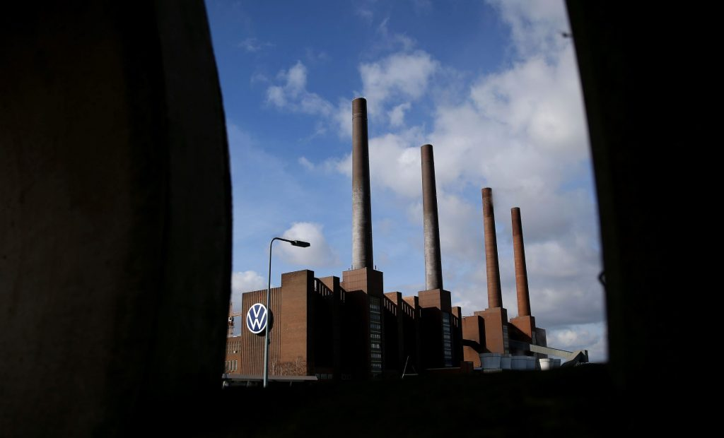 A Volkswagen (VW) power plant at its headquarters in Germany