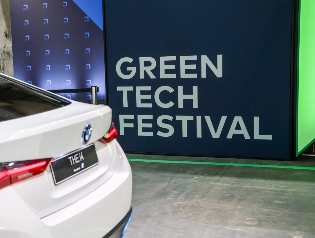 BMW's electric sedan i4 produced with locally-sourced hydroelectricity