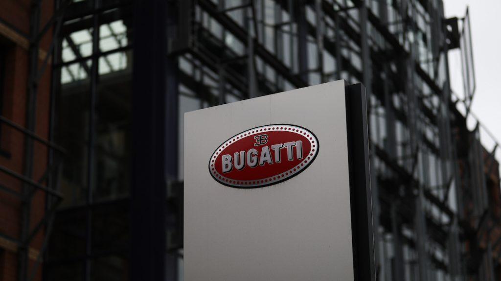 Bugatti sign