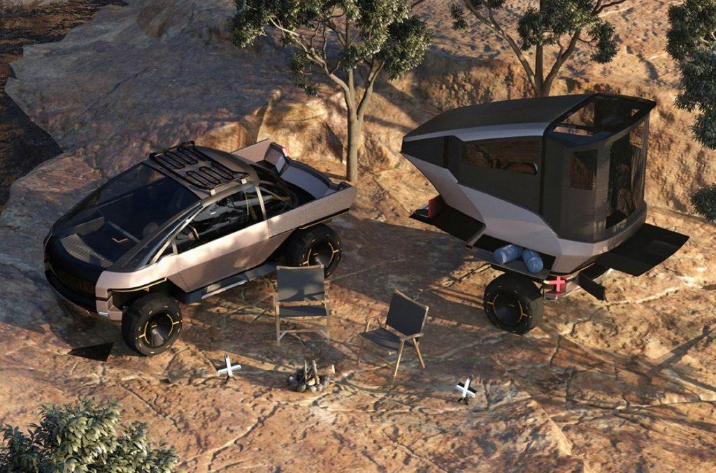 Canoo Anyroad city car/RV/off-roader concept