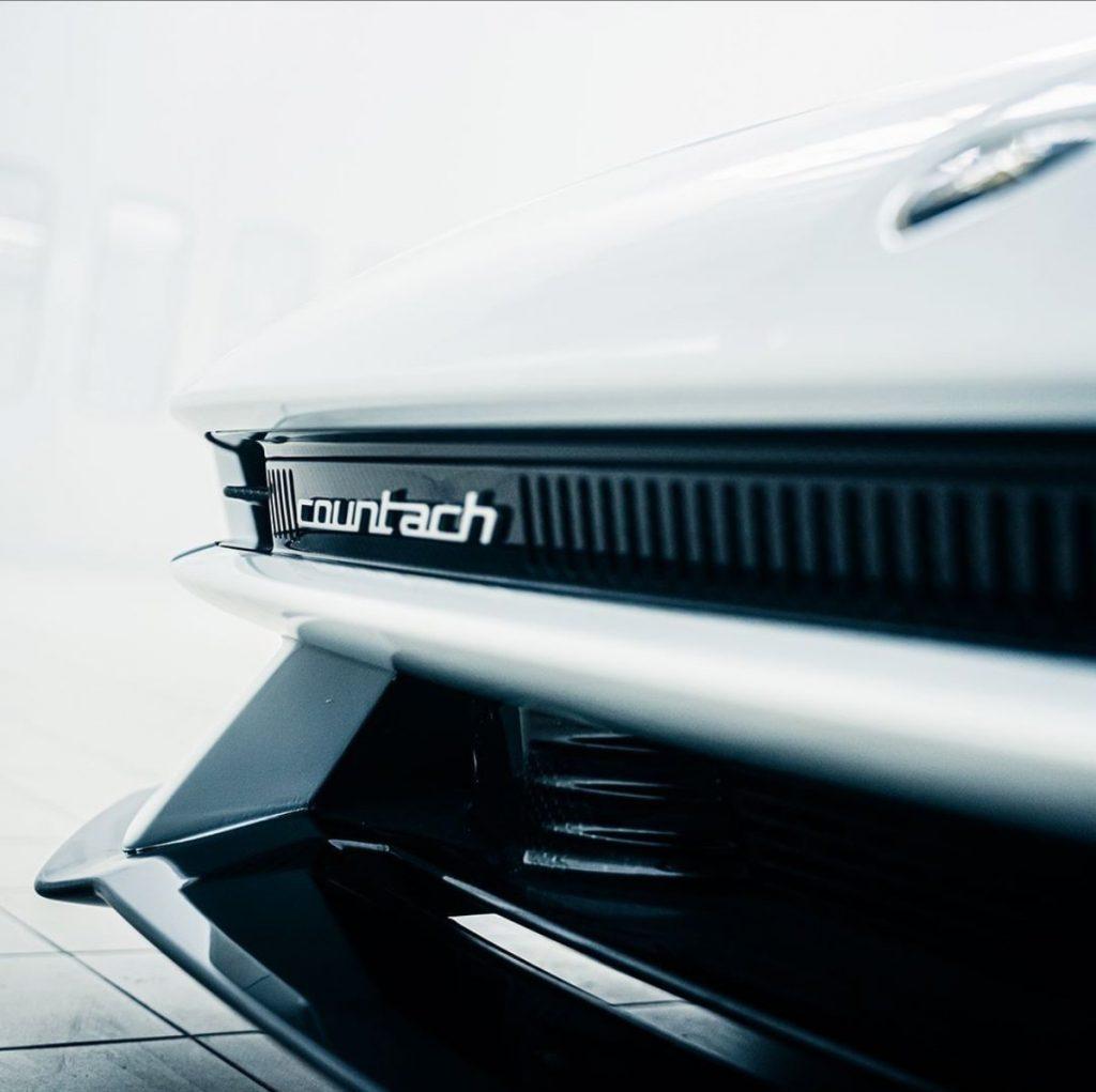 Leaked Lamborghini Countach