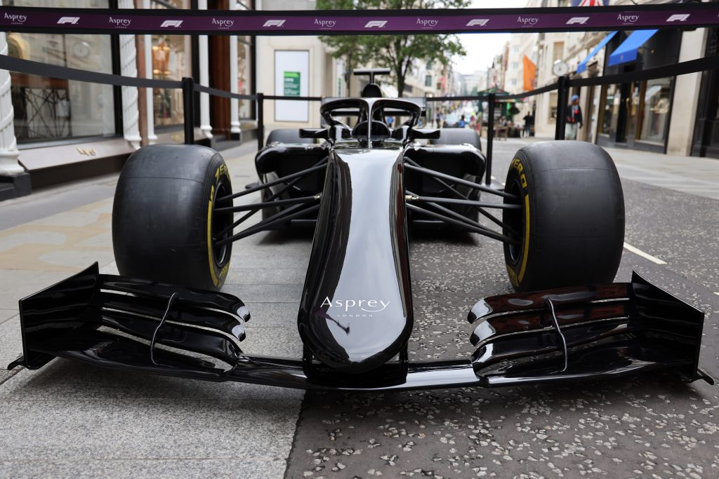 formula 1 racecar