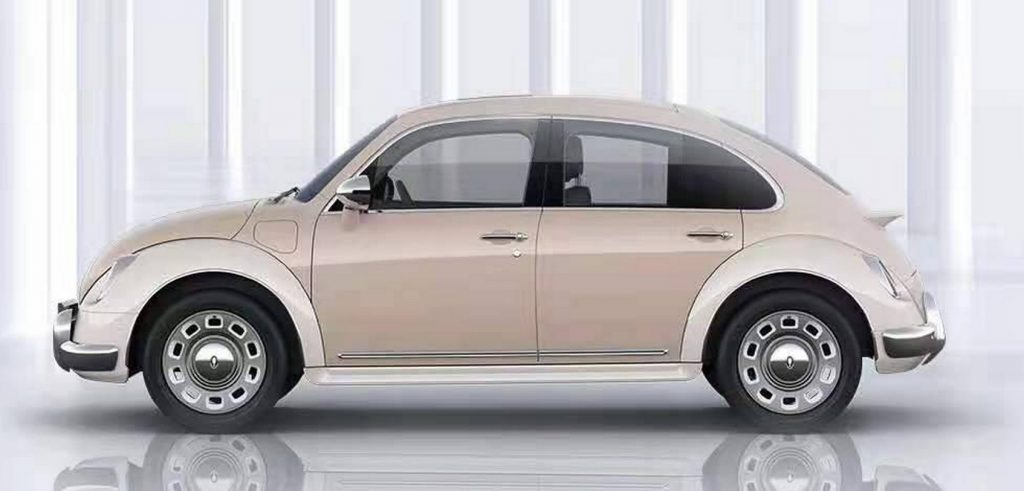 Chinese VW Beetle rip-off