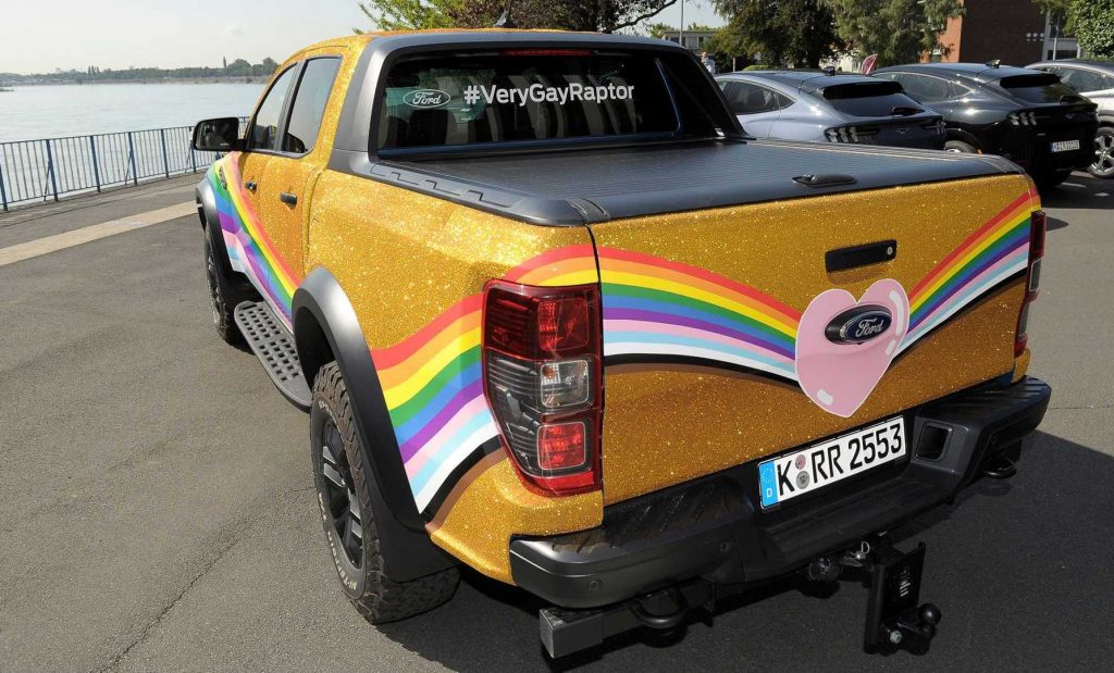 Ford's Very Gay Ranger Raptor pickup | Ford
