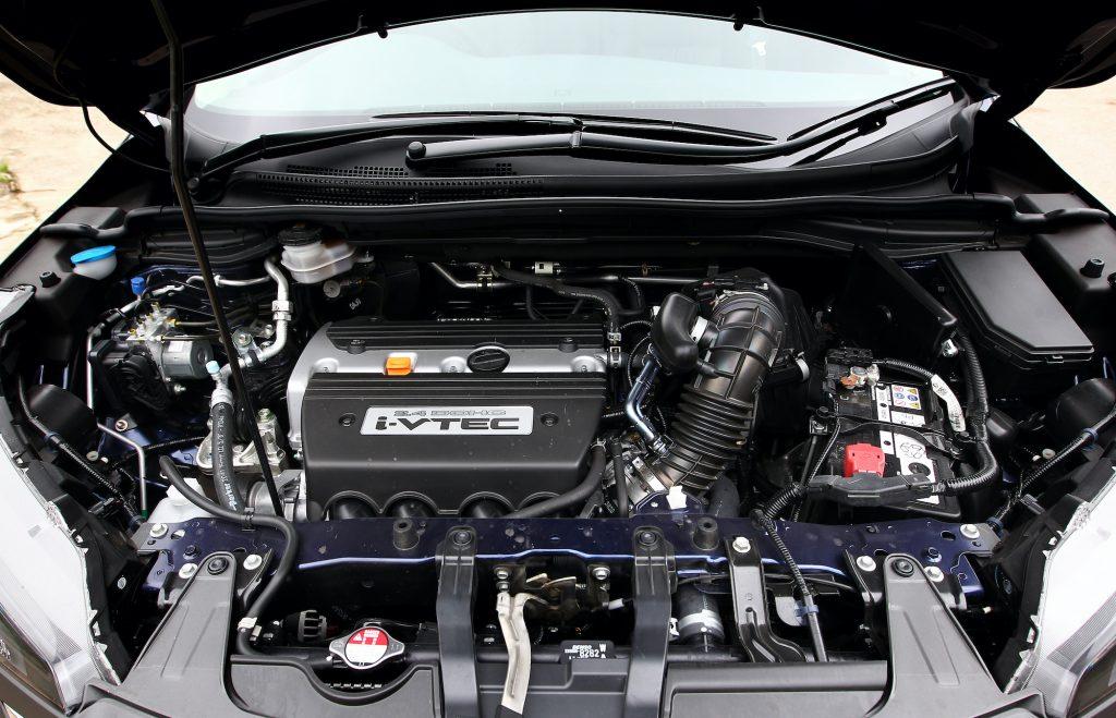 The engine of the new Honda CR-V.