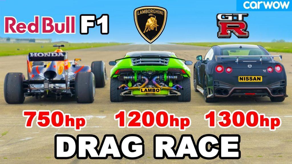 Choose Your Supercar Fighter: Formula 1 Car, Lamborghini Huracán, or GT-R NISMO