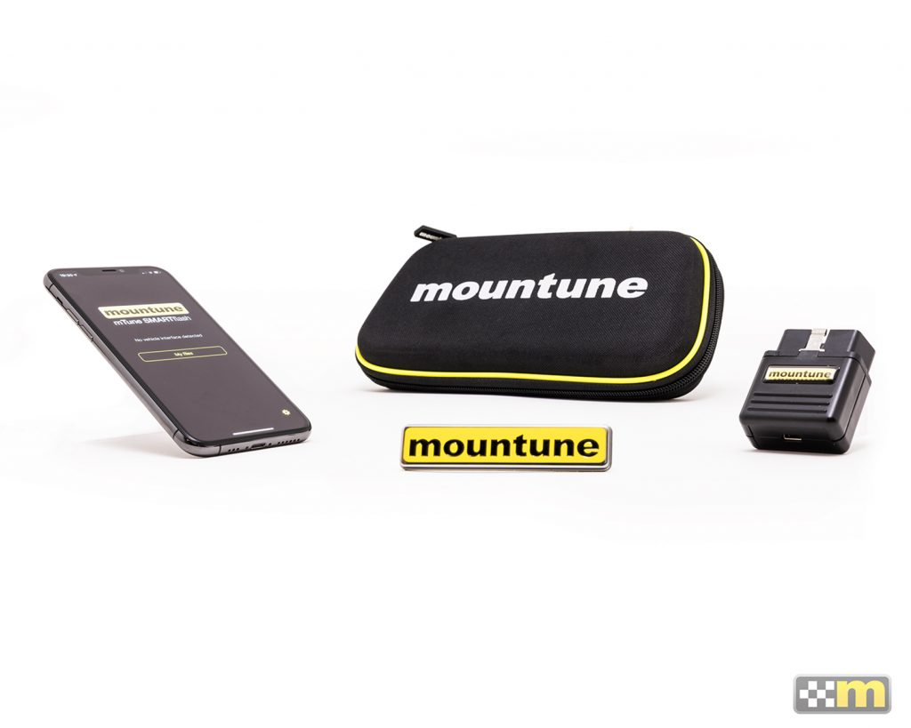 A product shot of the Ford Focus ST m330 performance upgrade kit by mountune.
