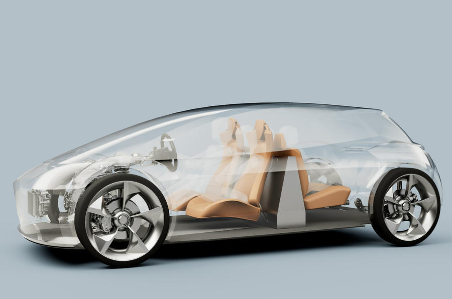 Page-Roberts electric vehicle cutaway