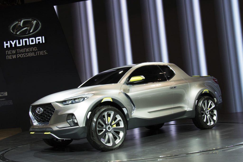 The new Hyundai Santa Cruz
