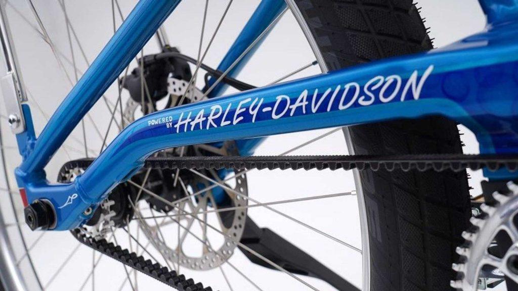 Harley-Davidson Serial 1 custom Sting-Ray frame close up