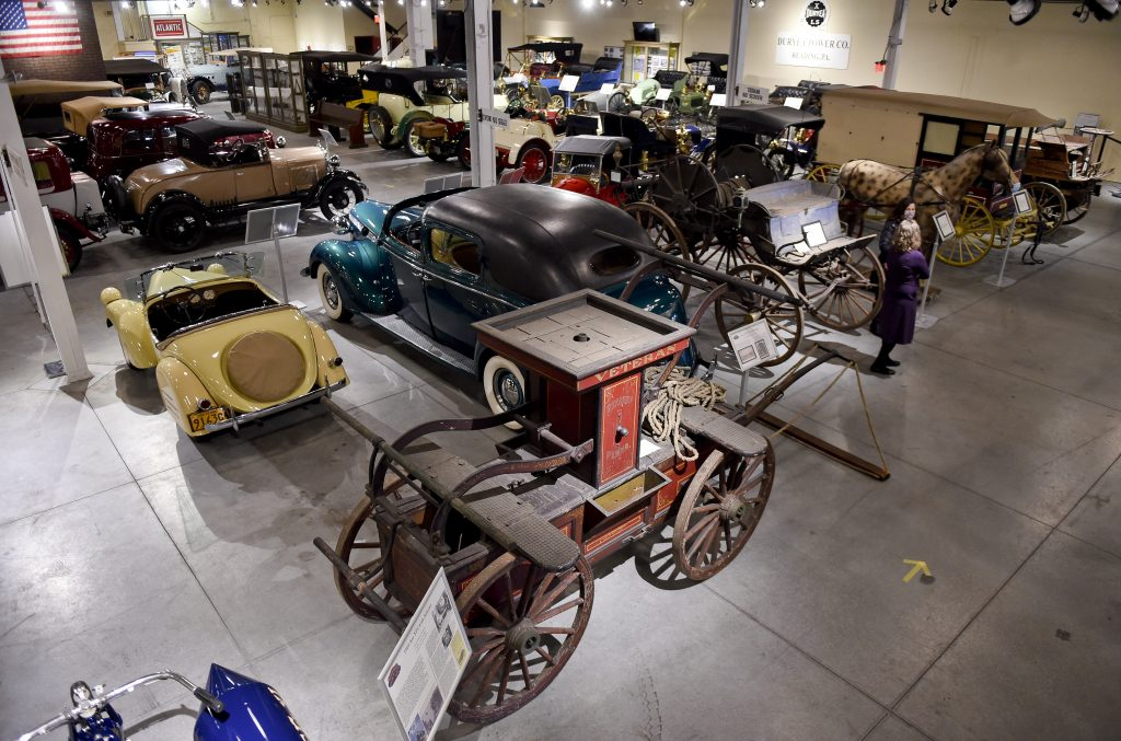 This is a vintage car collection