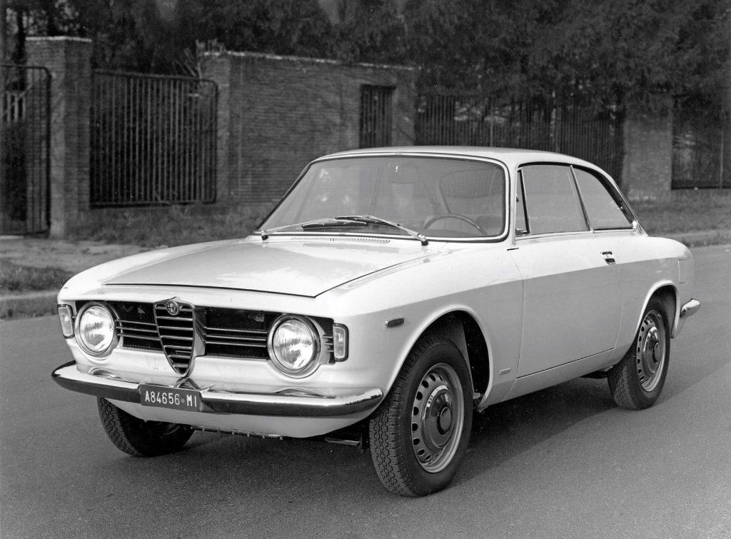 A 1963 Alfa Romeo Giulia GT
