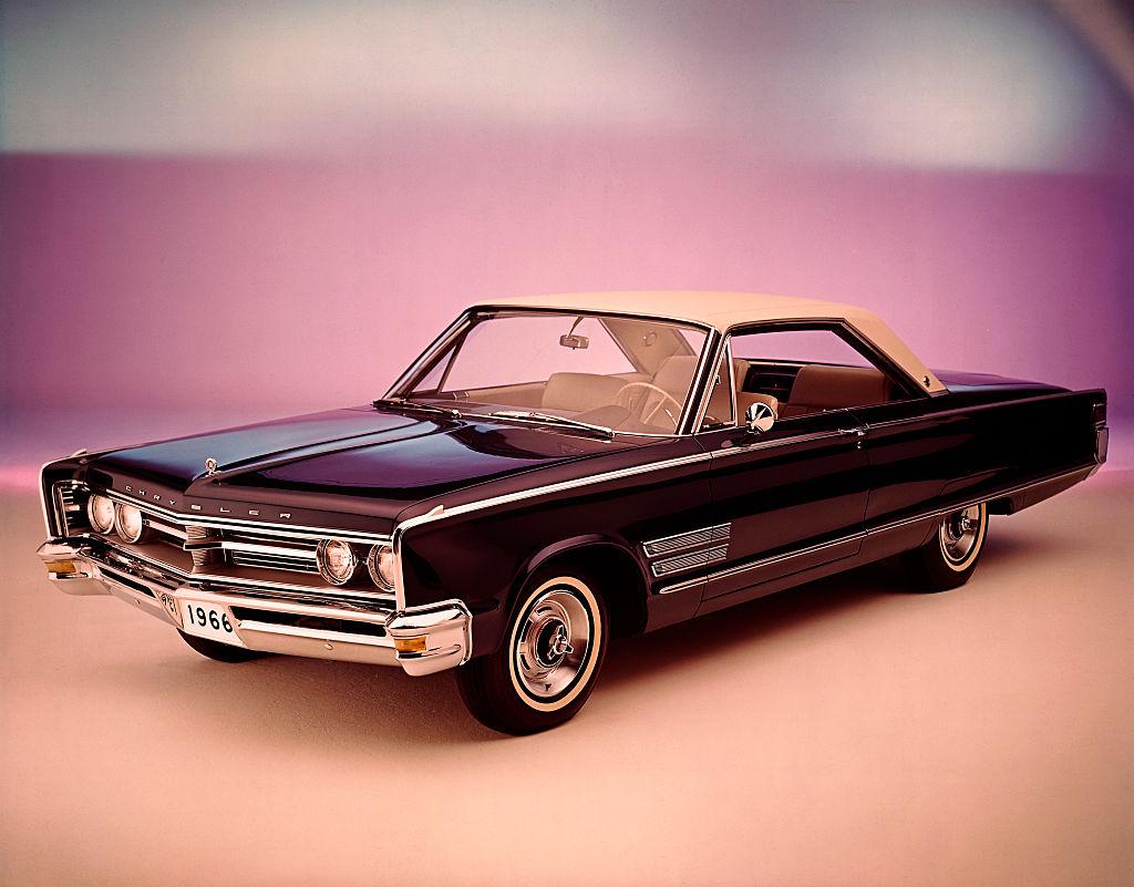 1966 Chrysler 300 in studio shot