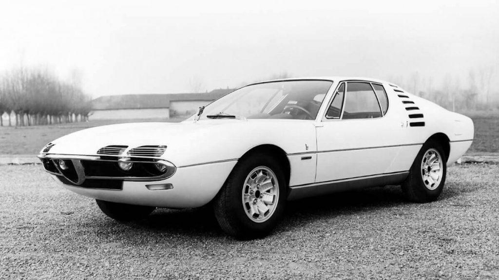 1967 Alfa Romeo Montreal Concept Car in white