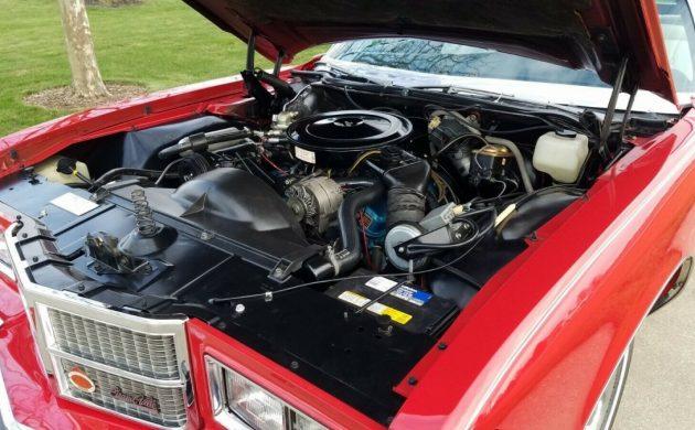1975 Pontiac Grand Ville convertible 455 ci V8