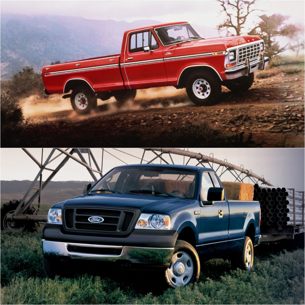 1979 Ford F-150 and 2006 Ford F-150