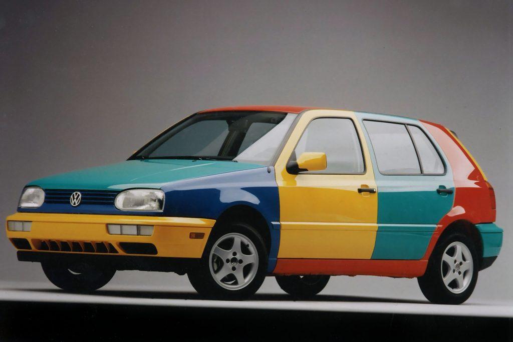 1996 Volkswagen Golf Harlequin