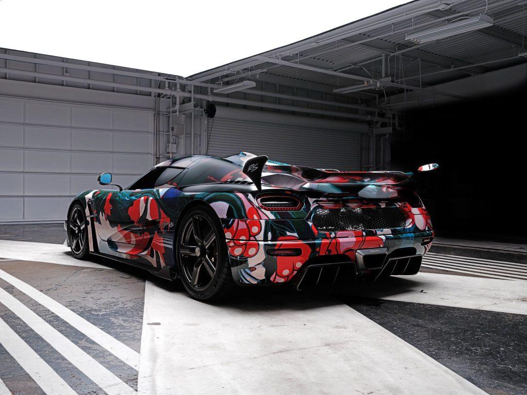James Jean's Koenigsegg Agera RS