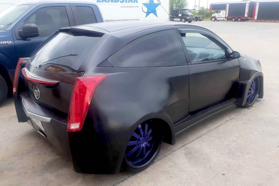 2002 Ford Focus Cadillac CTS conversion