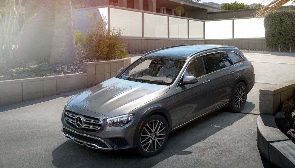 2021 Mercedes wagon ft 3/4 view