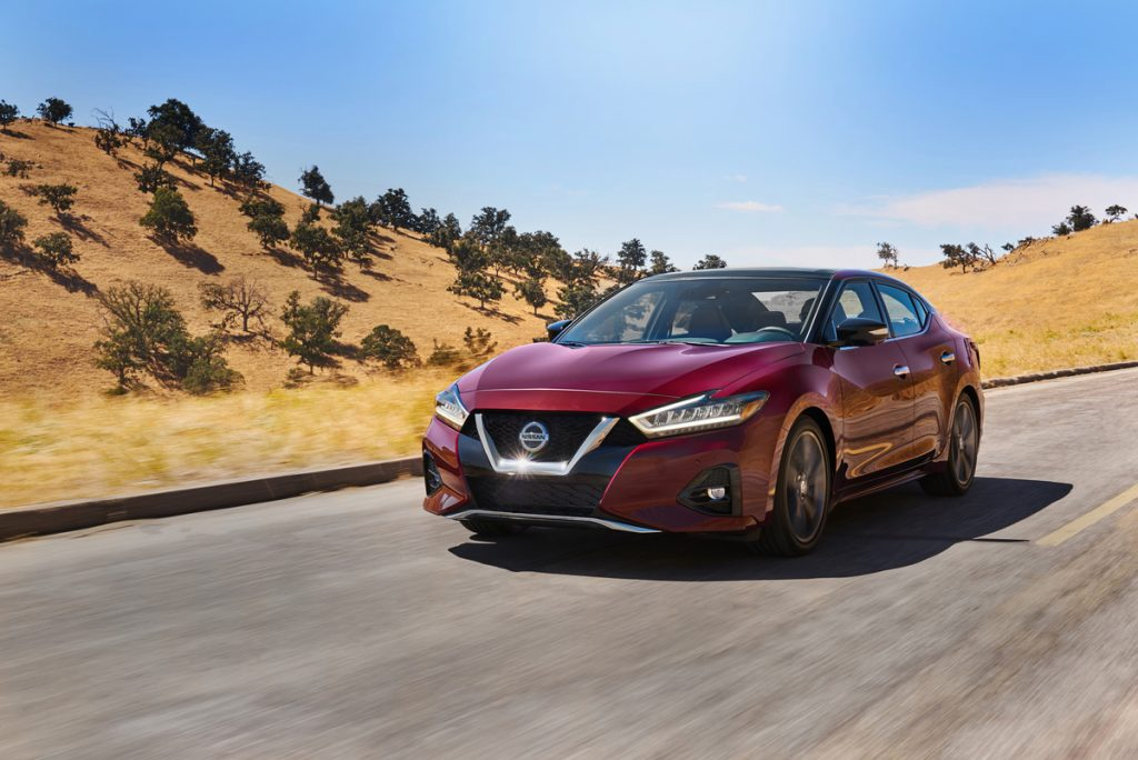 Nissan Maxima topped the J.D. Power Best New Cars of 2021