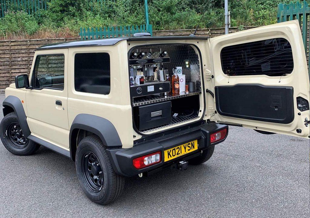 2021 Suzuki Jimny Beans coffee bar