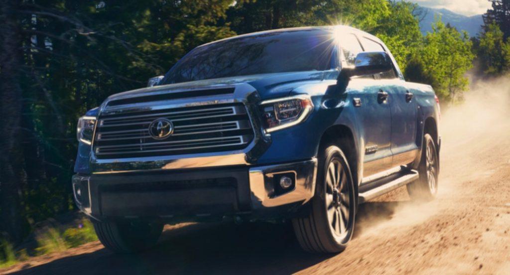 The 2021 Toyota Tundra.