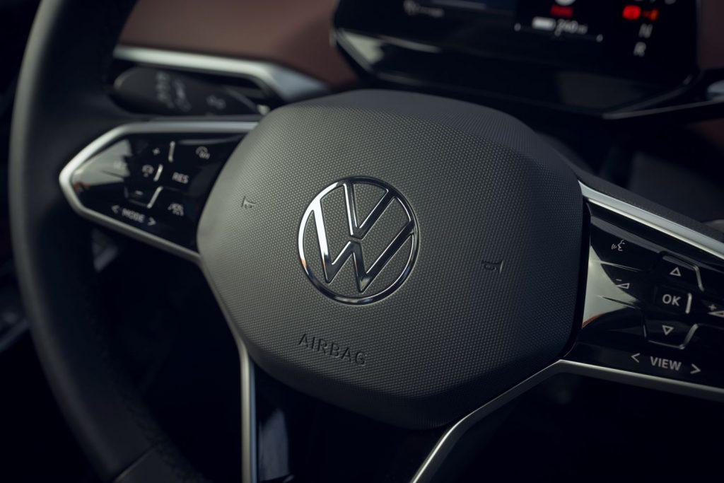 2021 Volkswagen ID.4 multi-function steering wheel