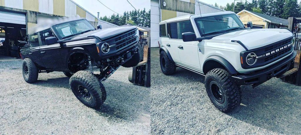 2021 Ford Bronco solid-axle comparison