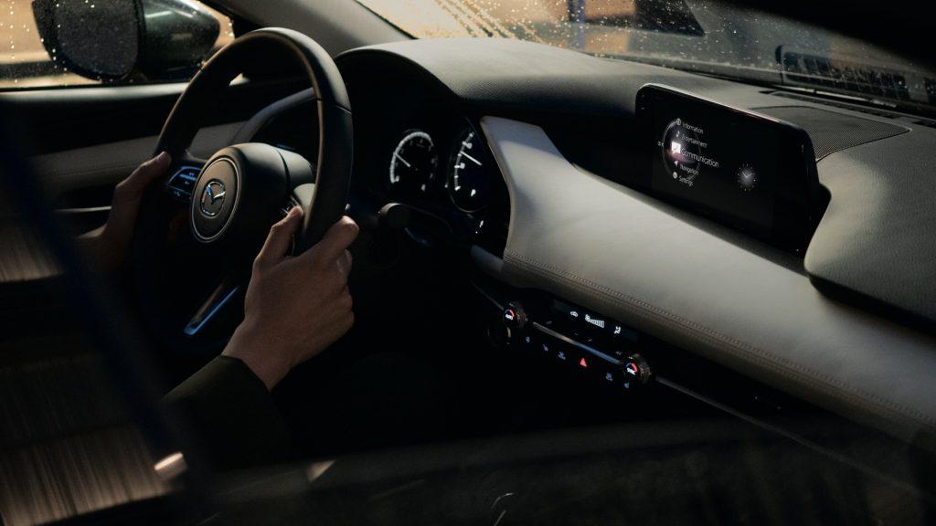 2021 Mazda3 Turbo interior