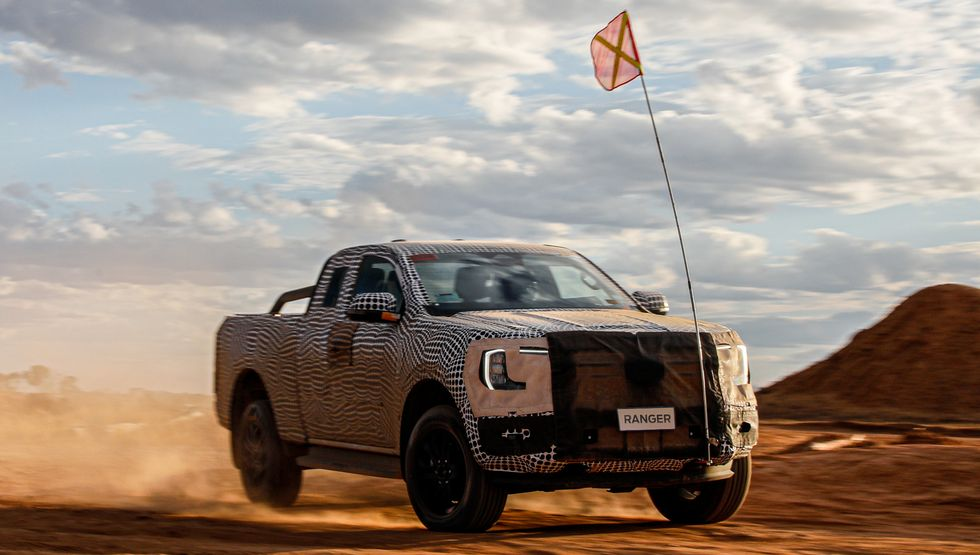 2022 Ford Ranger teaser