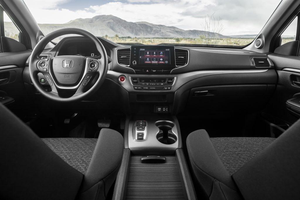 2021 Honda interior