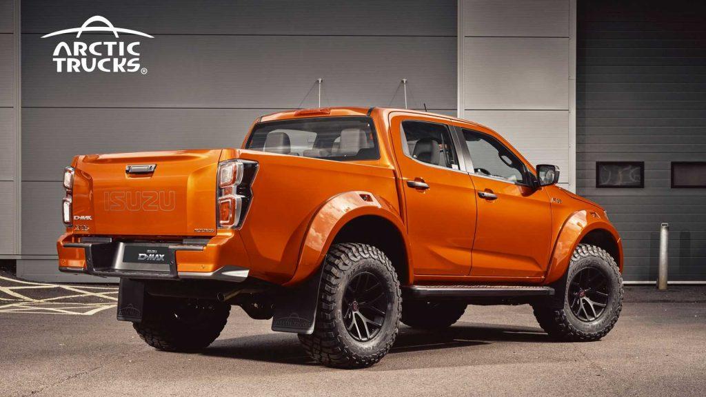 2022 Arctic CT35 Isuzu D-Max pickup