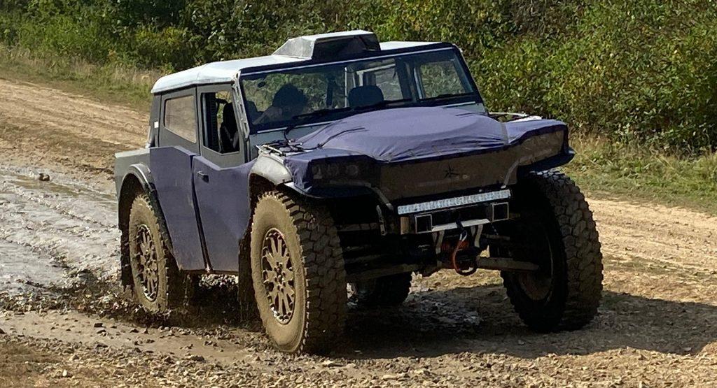 2022 Fering Pioneer off-road truck prototype testing