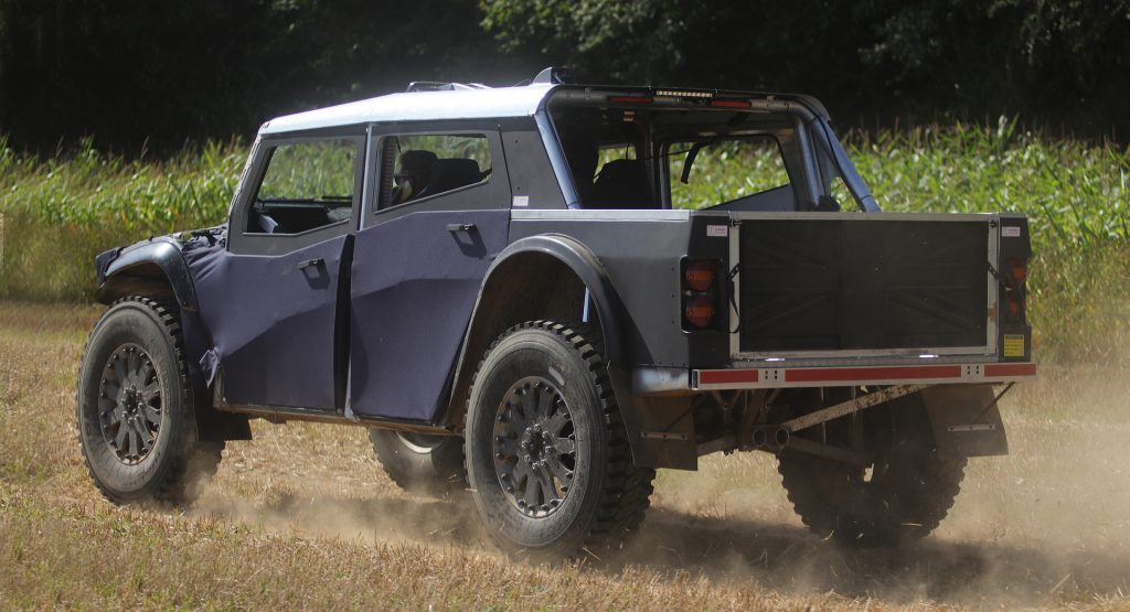 2022 Fering Pioneer off-road truck being tested
