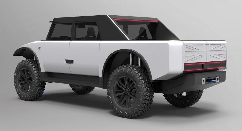 2022 Fering Pioneer off-road truck rendering