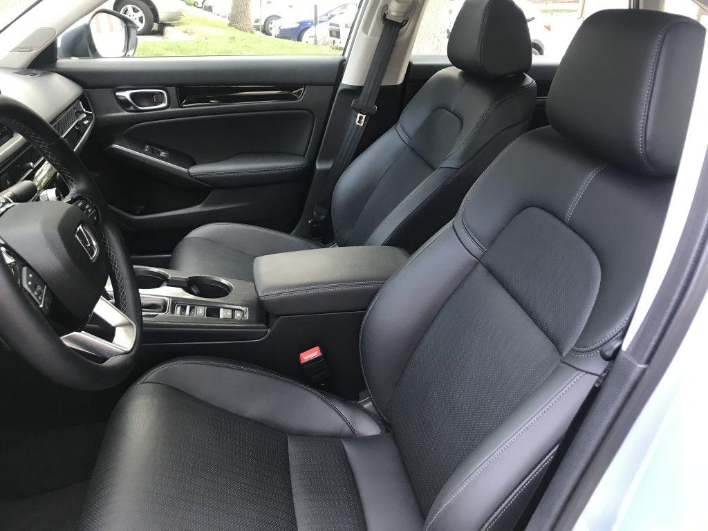2022 Honda Civic front seats